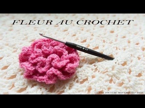 Comment Faire Une Fleur Au Crochet Facile Pour Debutant Crochet