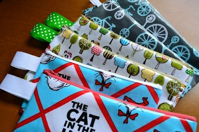Oilcloth Pencil Cases  — Sew Can She | Free Daily Sewing Tutorials