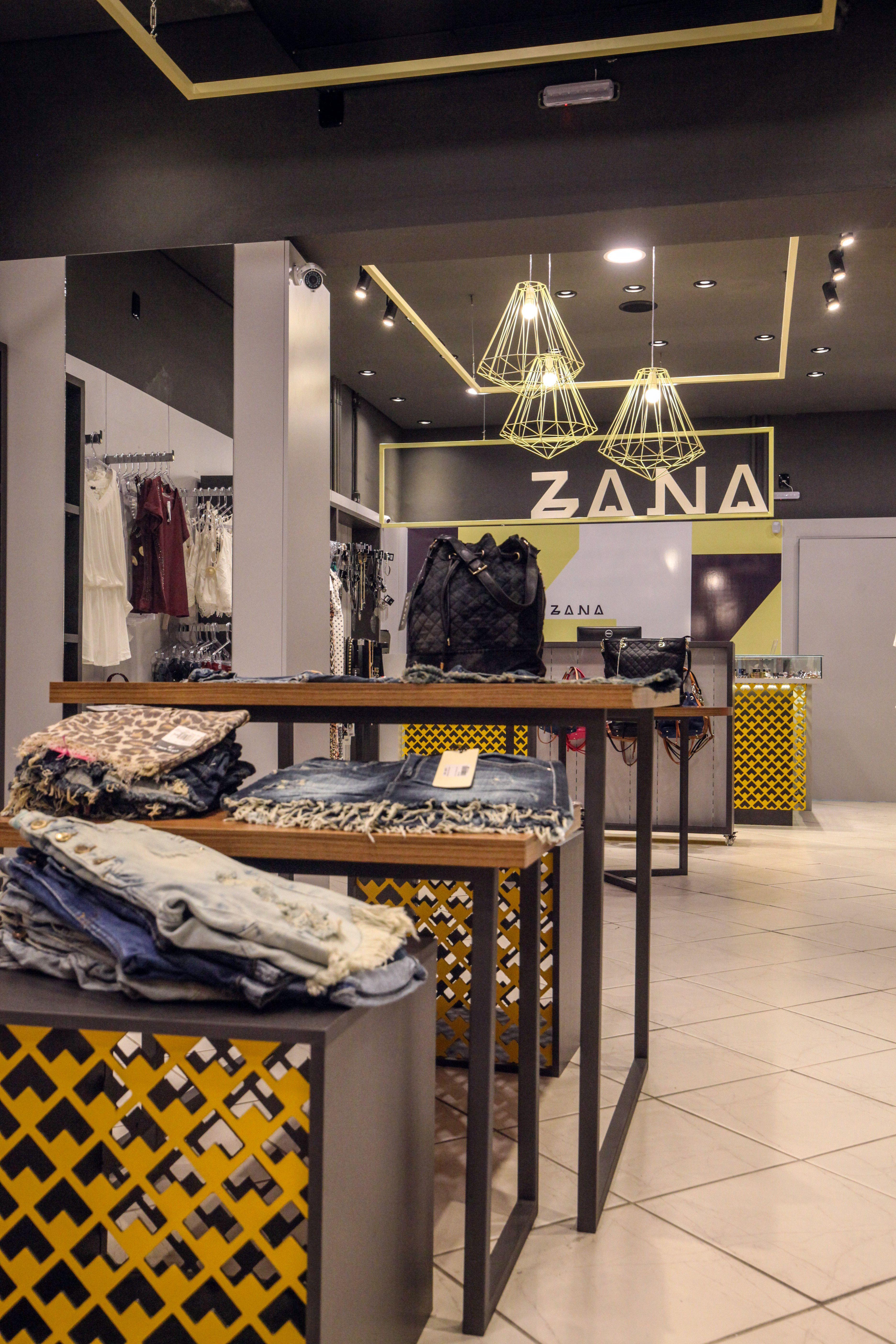 Projeto de Arquitetura Comercial da Zana, assinado por Lineastudio.
