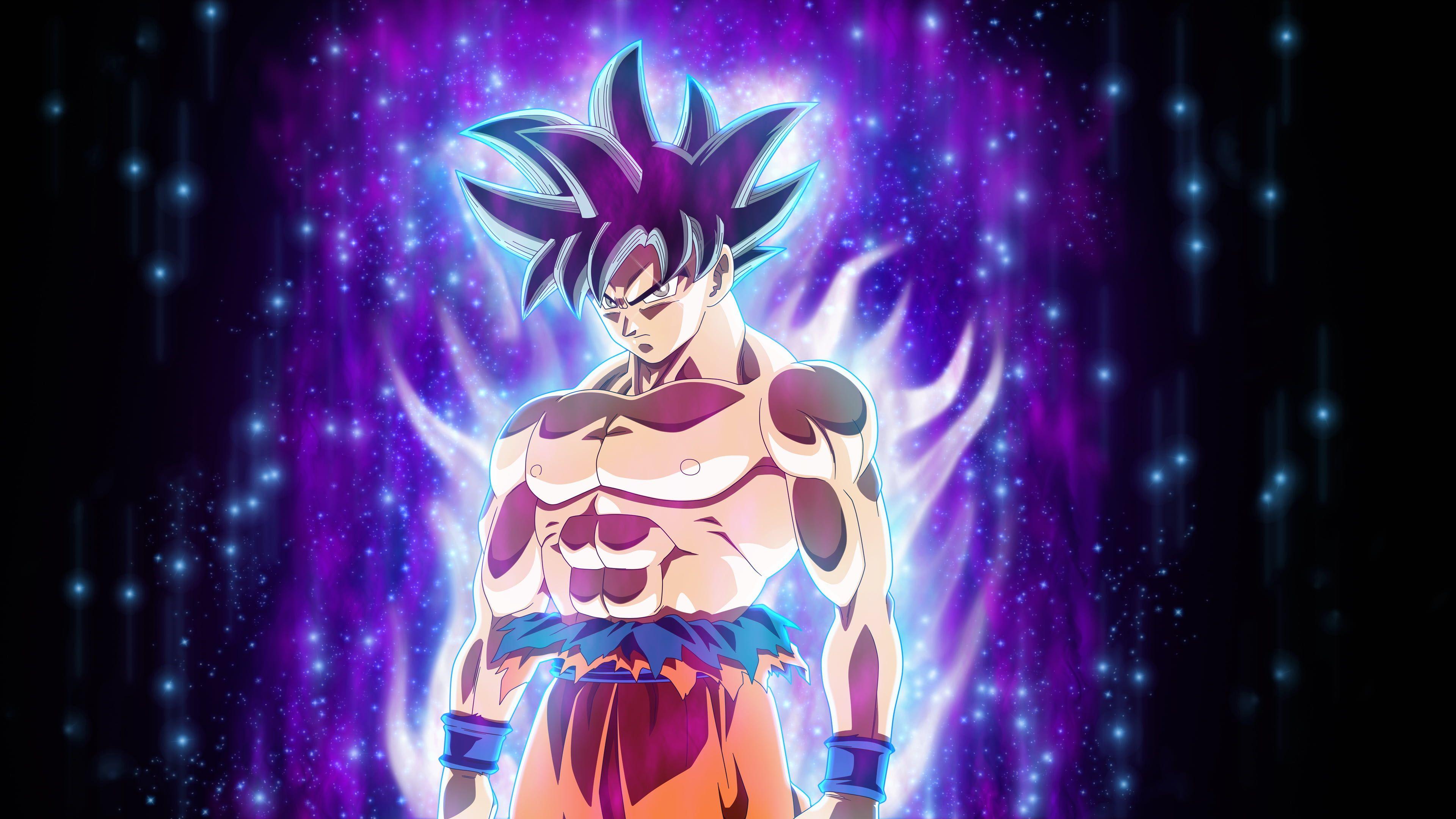 Fan Art Ultra Instinct Son Goku Live Wallpaper