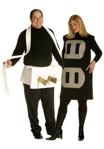 Rasta Imposta 17942 Plug  Socket Couples Set Plus Adult Costume - funny couple halloween costumes ideas