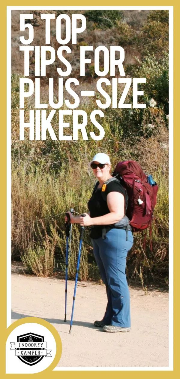 Photo of Top Tips for Plus-Size Hiking | Indoorsy Camper