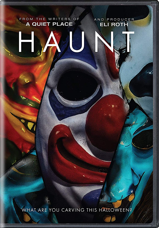 Haunt dvd universal studios horror movies list horror