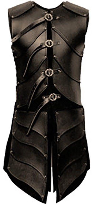 Real leather ninja medieval theatarical celtic Armor LARP ...