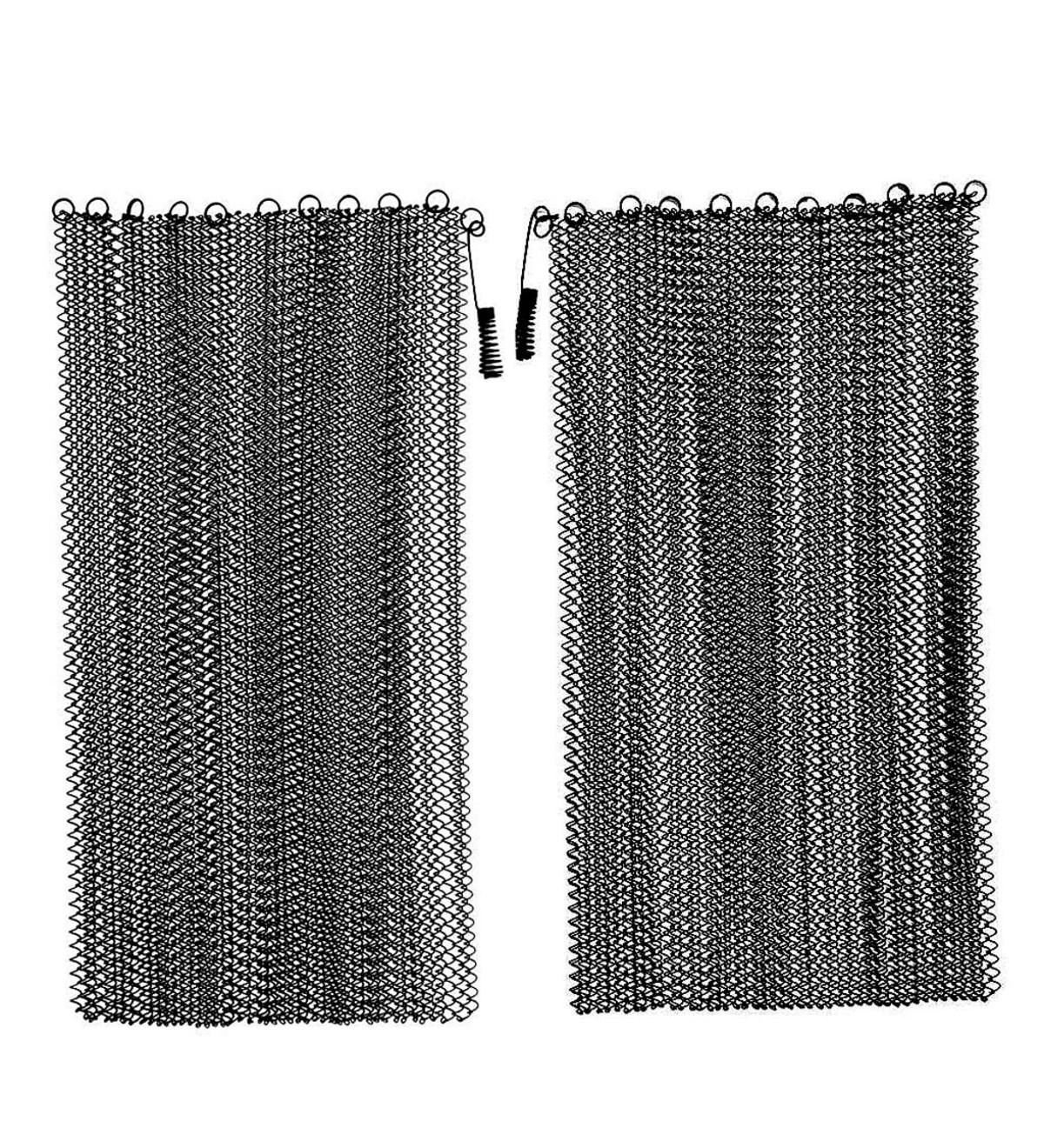 Designed To Fit Your Fireplace Our Hanging Mesh Curtain Fire