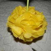 How to make large tissue paper flowers large paper flowers tissue how to make large tissue paper flowers tissue paper flowers are colorful and festive they are great decorations for celebrations parties and festivals mightylinksfo