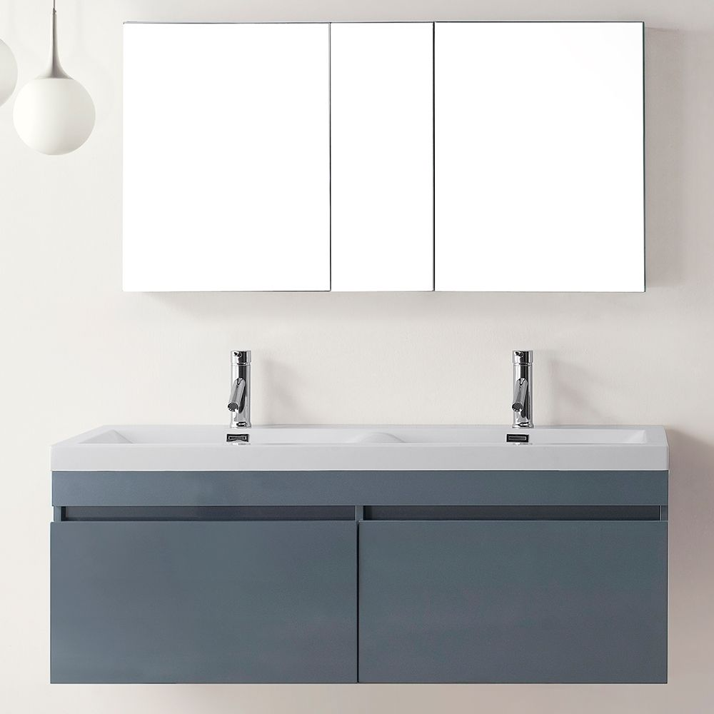 The Zuri Inch Double Sink Vanity Set Is The Epitome Of Quality - 55 inch double sink bathroom vanity for bathroom decor ideas