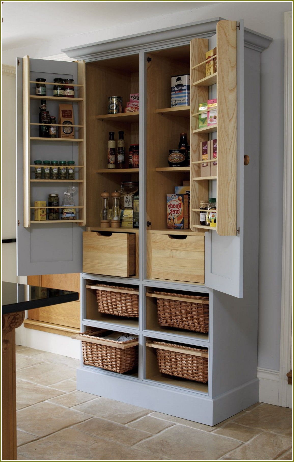 kitchen storage walmart metal of size large ikea freestanding cabinets full racks pantry furniture creative cabinet