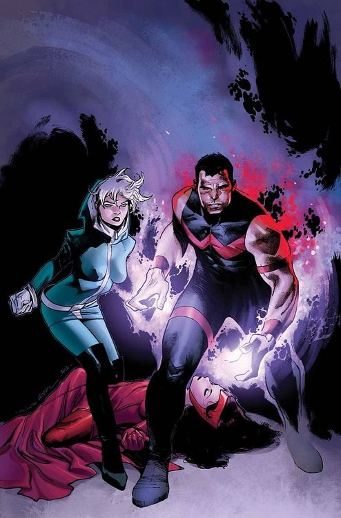 Uncanny Avengers #5 Variant Cover By Olivier Coipel