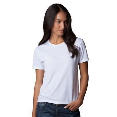 XPRES LADIES SUBLI PLUS TEE SHIRT   Promotional clothing ...