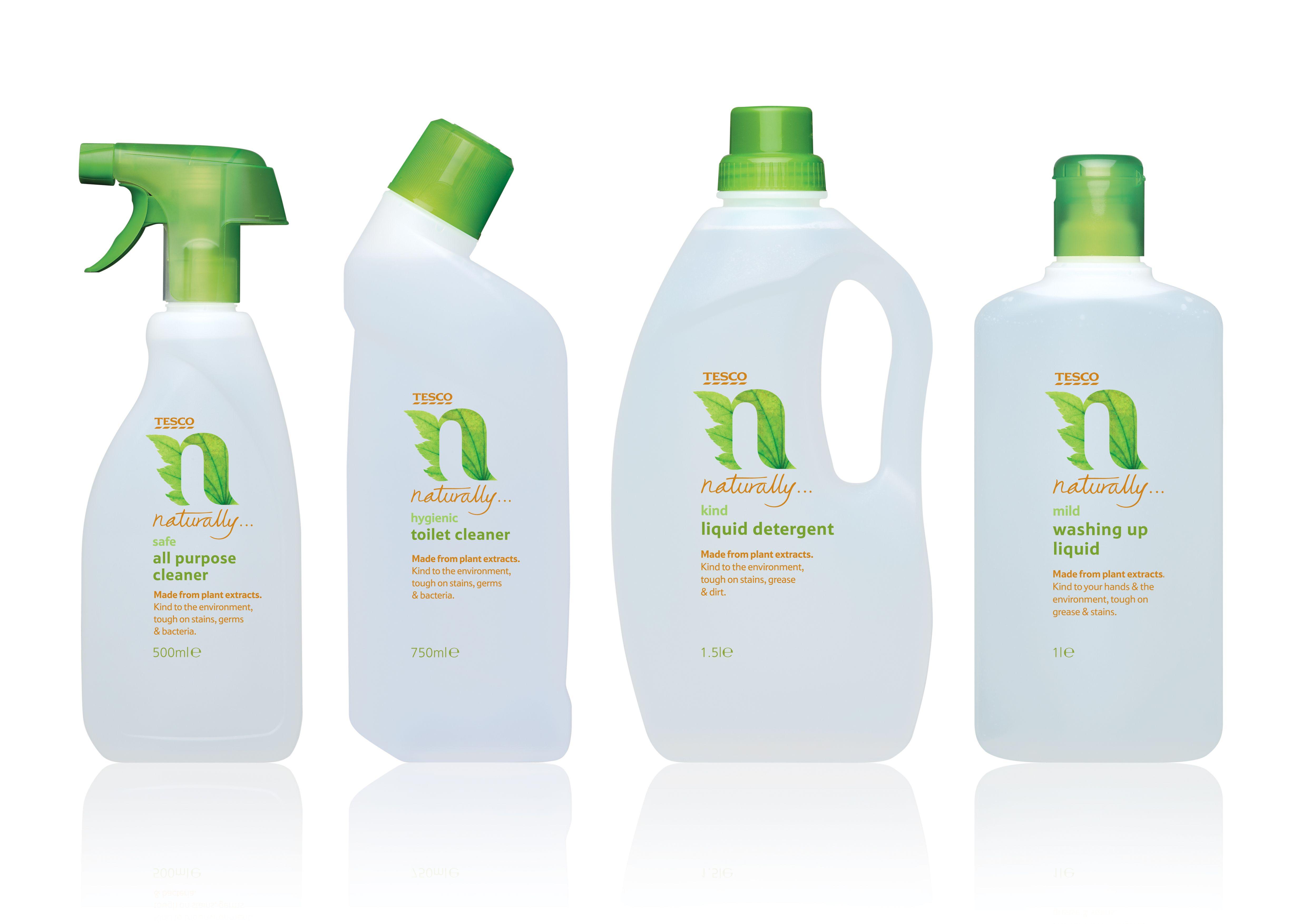 Airlia Liquid Detergent Packaging Design Packaging T