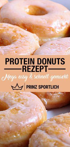 Protein Donuts: Die Extra-Portion Eiweiß als Dessert getarnt – Carey&CleanEatingS
