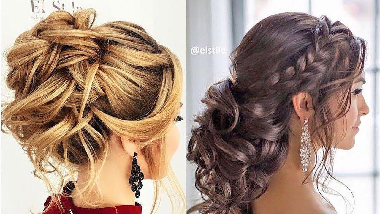 12 Romantic Prom & Wedding Hairstyles 😍 Professional Hair ...