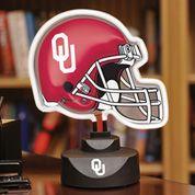 University of Oklahoma Neon Helmet Lamp $37.49