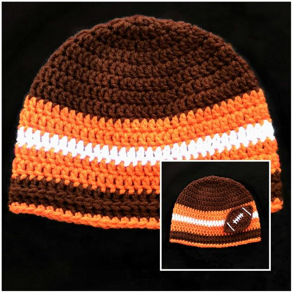 sale uk pretty cool unique design Cleveland Browns Football NFL Winter Beanie by CarolynLaymonArtist ...
