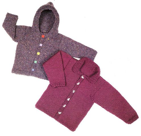Design By Louise--Louise Silverman--Child's Gifford Jacket (ages 2 - 12)