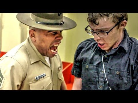 US Marine Corps Drill Instructor vs US Army Drill Sergeant - YouTube