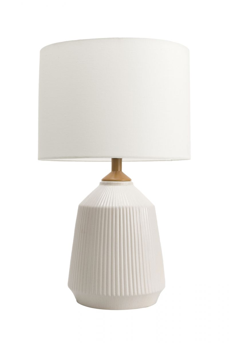 Alva 24 Inch Bridget Ceramic Table Lamp Cream Lamp Rugs Usa Ceramic Table Lamps Table Lamp