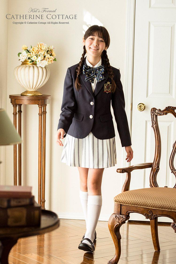 0844b0a60e01f 入学式 卒業式 子供スーツ 4点スーツセット ジャケット ブラウス スカート リボン  女の子 卒業式 入学式 発表会 フォーマル 女児スーツ