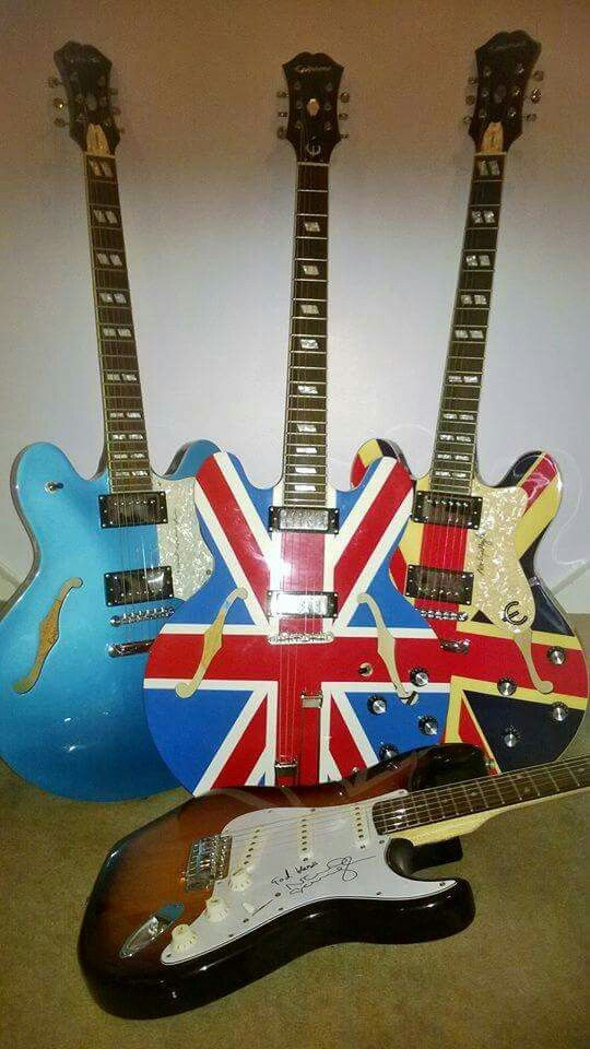 A selection of Noel Gallagher guitars | Gotta Get You Into My Life ...