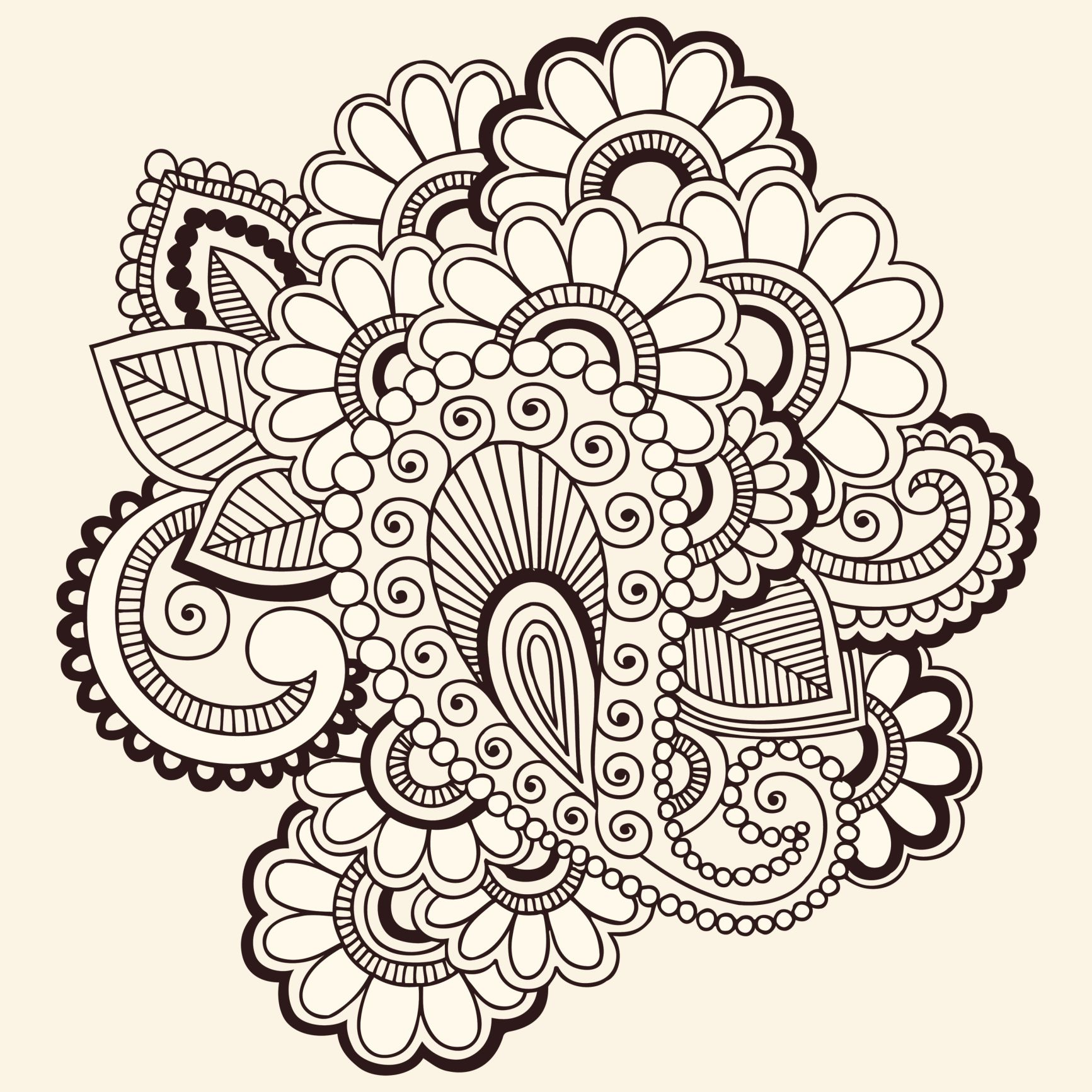 Awesome Graphic Design Work From Home   Henna Tattoo Designs