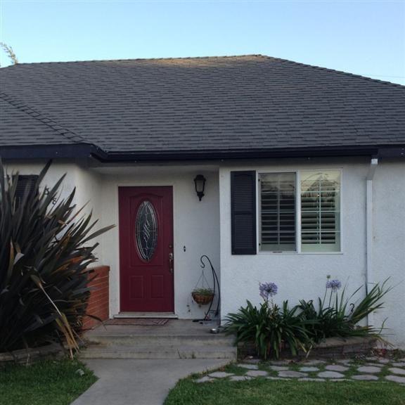 Red Door In West Covina Ca Snap Of Living Color Garage Doors
