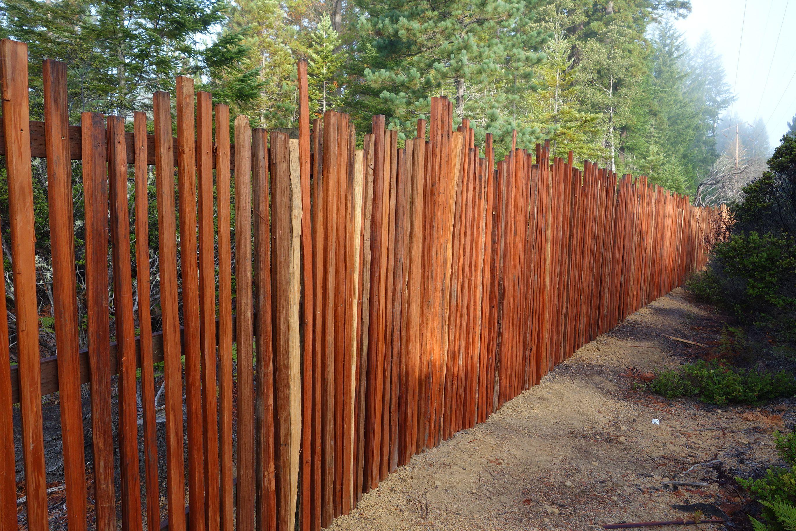 Grape Stake Fence