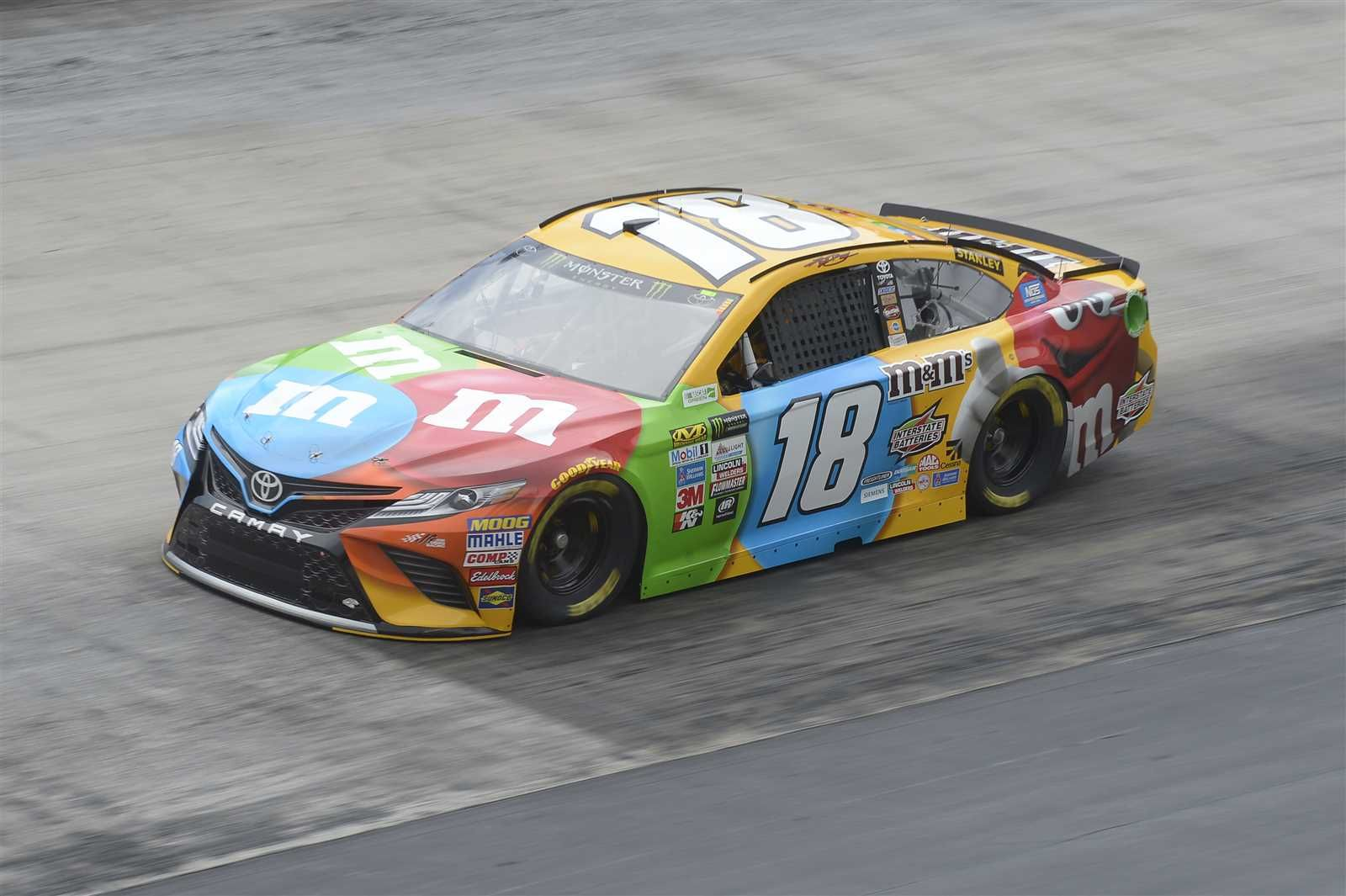 Food City 500 (Bristol) April 23, 2017 Kyle Busch will start seventh in the No. 18 Joe Gibbs Racing Toyota Crew chief: Adam Stevens Spotter: Tony Hirschman