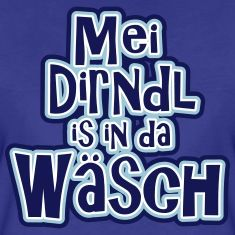 My dirndl is in the wash. :)