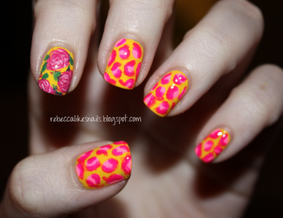 betsey johnson nails #rebeccalikesnails