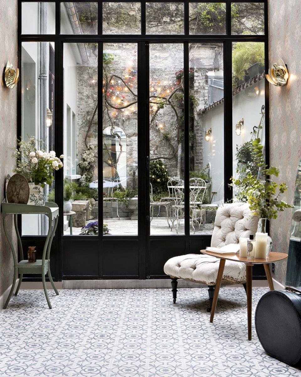 Merveilleux Carrelage Maison Bourgeoise #11: Carreaux De Ciment Deco Verrière. Maison BourgeoiseDéco ...