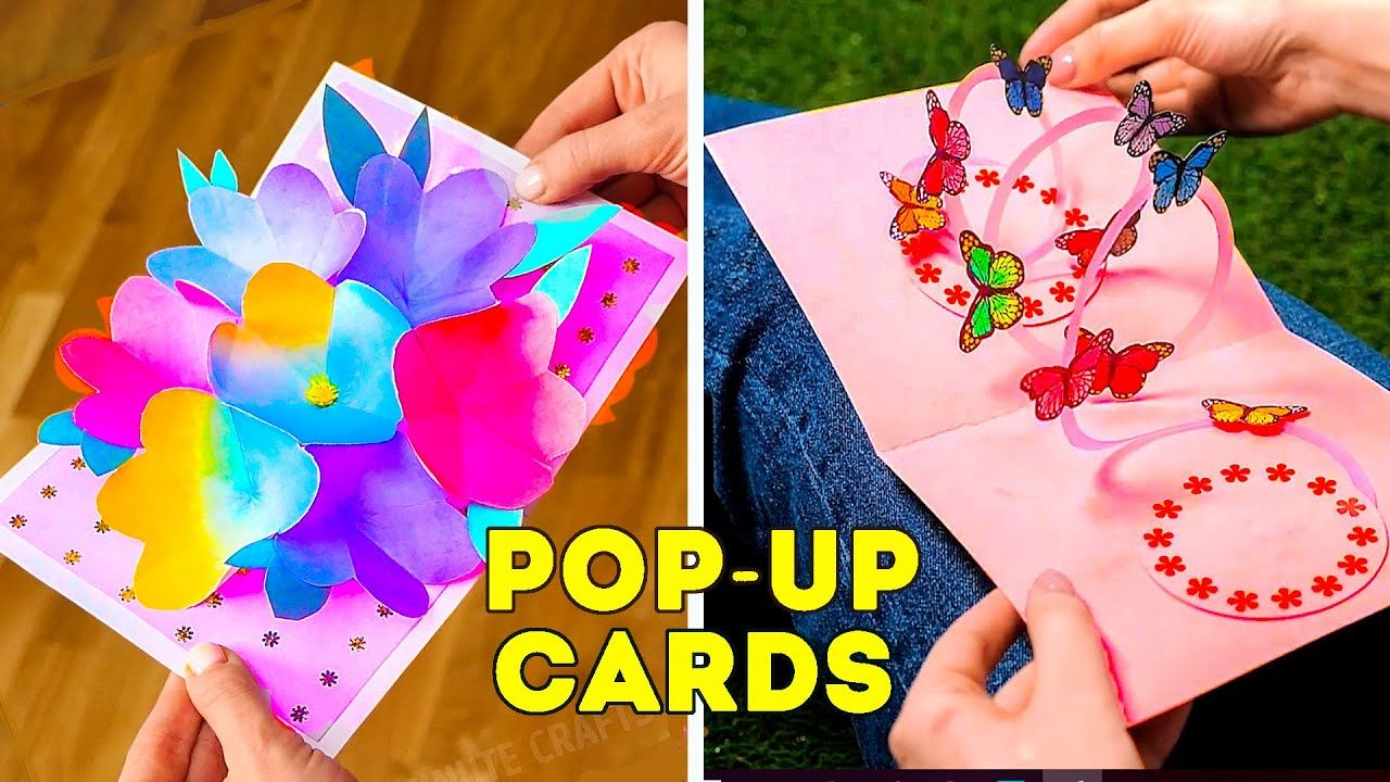 27 popup cards for any occasion  pop up cards paper