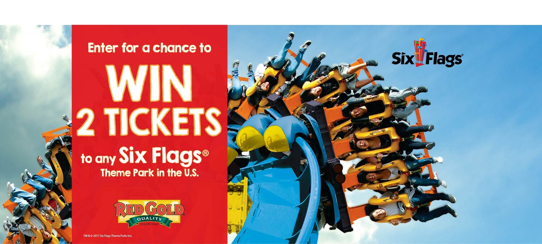 I Just Entered To Win A Pair Of Tickets To Six Flags And You Can Too Sweepstakes Giveaways Six Flags Sweepstakes