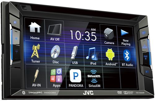 JVC KW-V220BT Refurbished DVD/CD/USB Receiver Touch Panel Monitor and Built-in Bluetooth #touchpanel