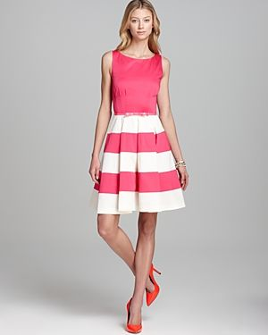 LUST-HAVE: Kate Spade New York - Pink and white stripe Celina ...
