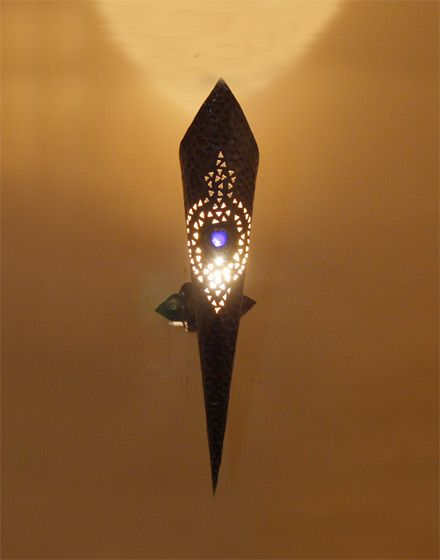 Moroccan wall lamp moroccan bazaar let their be light furniture lighting and decor by moroccan bazaar aloadofball Images