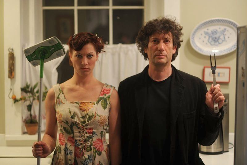 Image result for neil gaiman and amanda palmer wedding