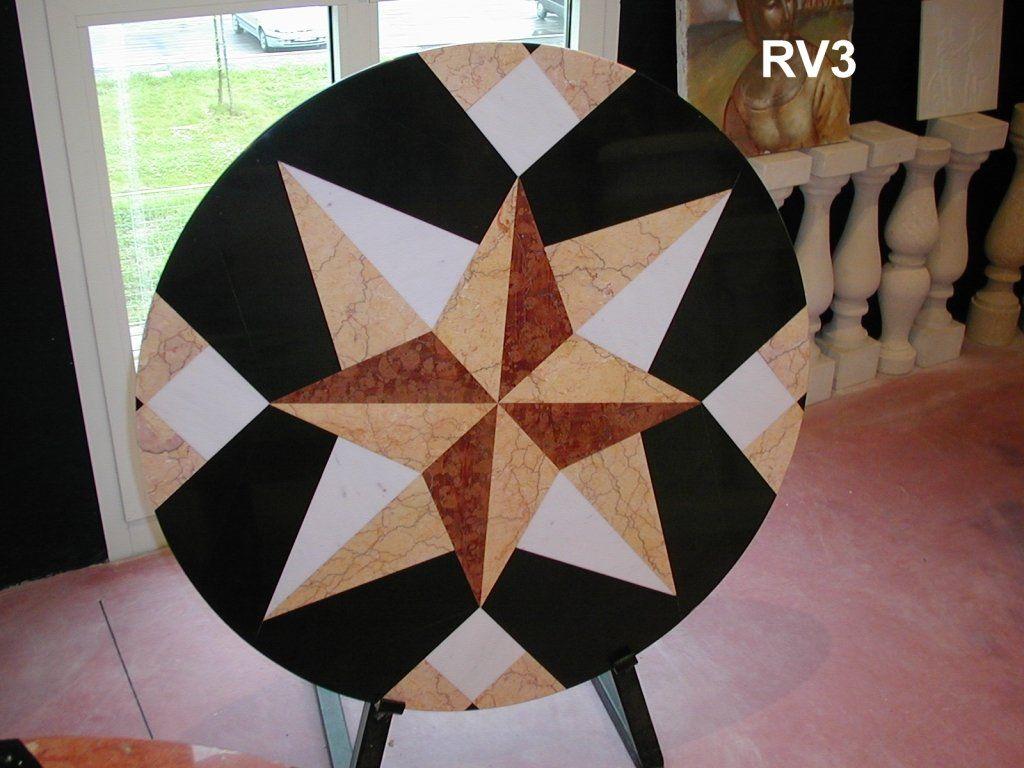 Tavolo Intarsiato ~ Tavolo intarsiato in marmo rosa dei venti http: www