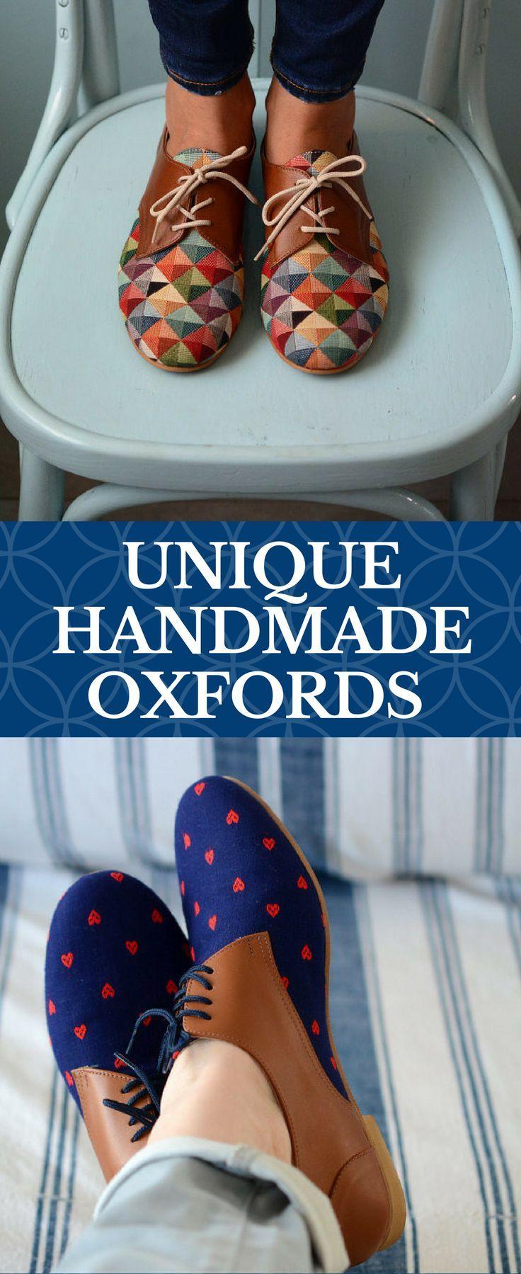 These handmade oxfords are so amazing! #handmade #vintage #retro ...