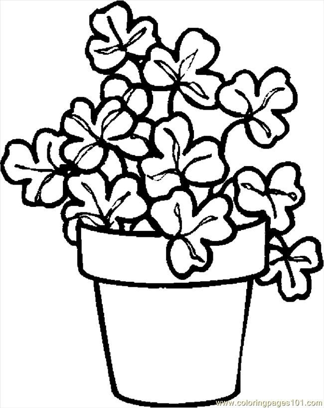 Printable Shamrock Cutouts - AZ Coloring Pages | irish ...