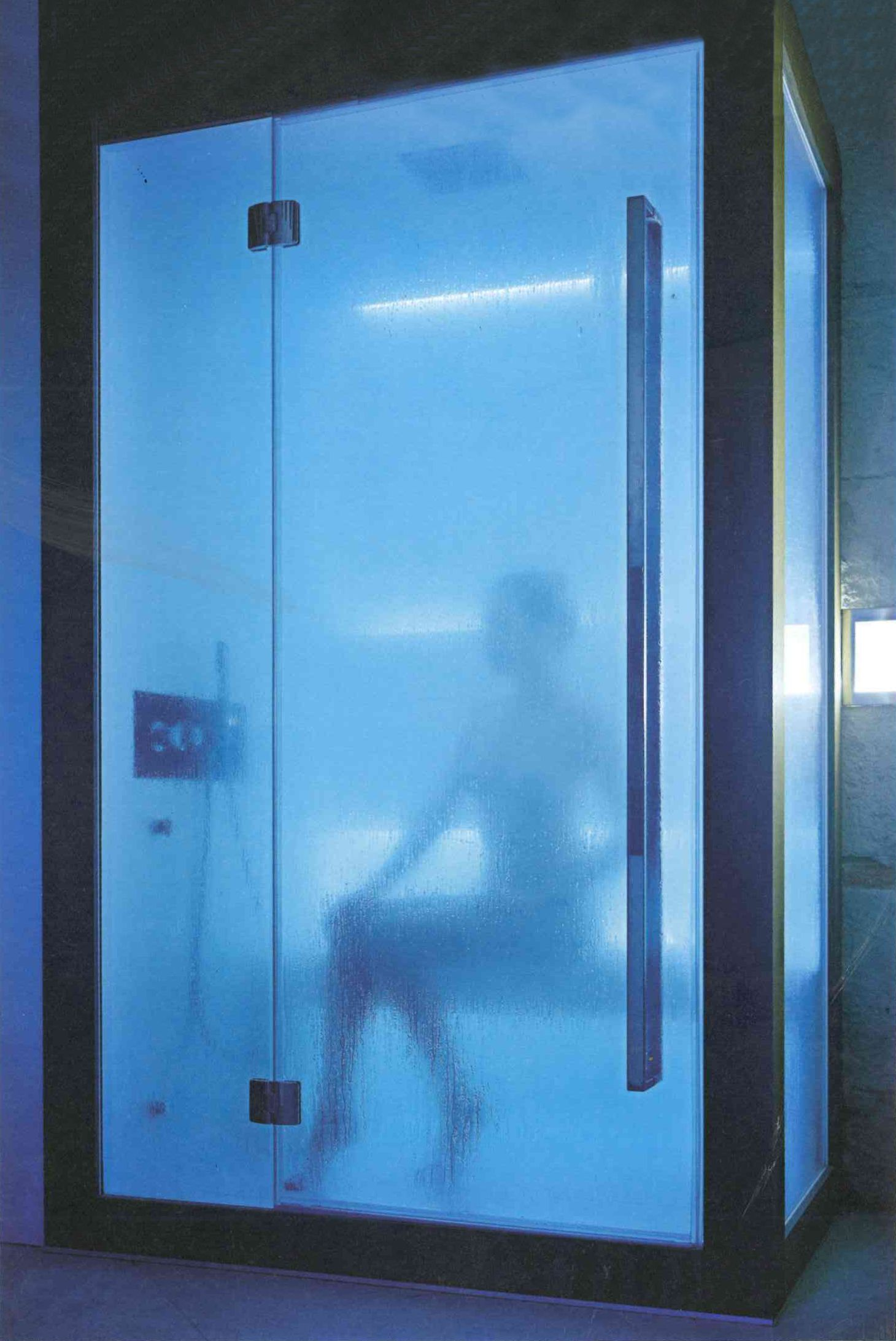 Steam Bath and Shower with Chromotherapy at The Blue Spa of Verona ...