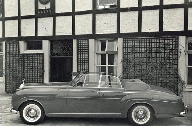 1961 Four-door Convertible by H.J. Mulliner (chassis LLCB16, body 6365, design 7484), one unit produced