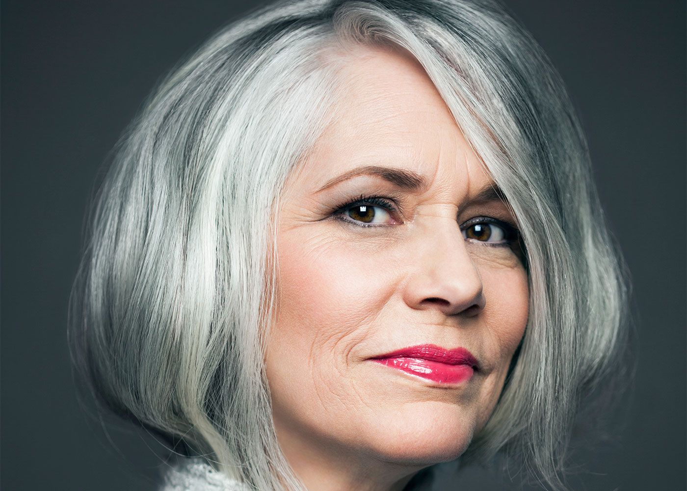 MakeUp Tips if You Have Grey Hair Grey hair over 50