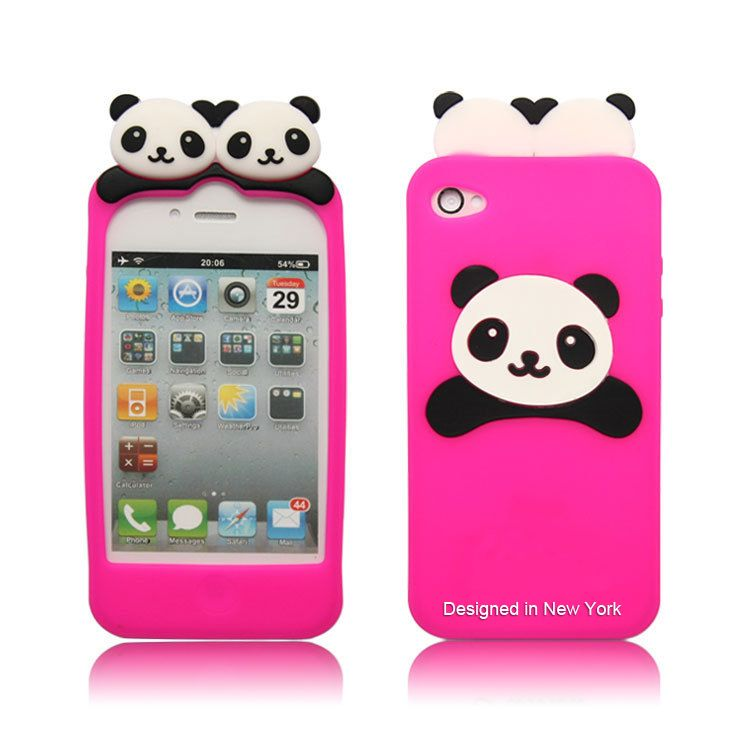cute iphone 4s cases minecraft panda phone cases home iphone iphone 4 1782