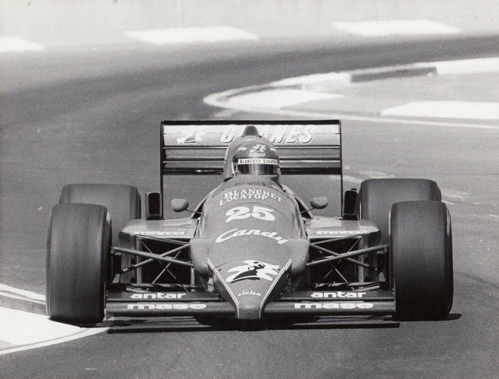 PHILIPPE STREIFF LIGIER RENAULT JS25 ADELAIDE GP 1985 F1