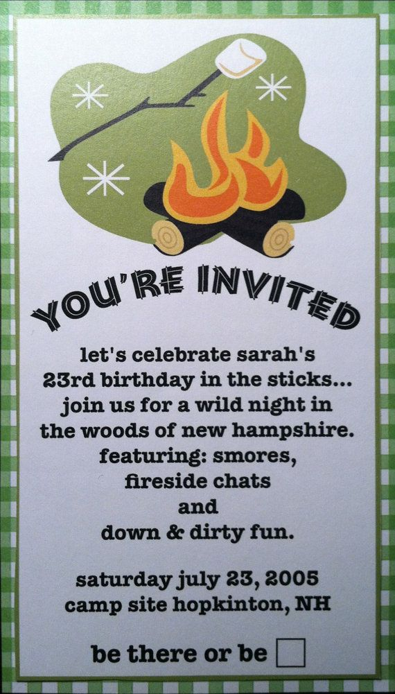 Outdoor party invitations southernsoulblog camping outdoor party invitations by purplechloe on etsy shop stopboris Choice Image