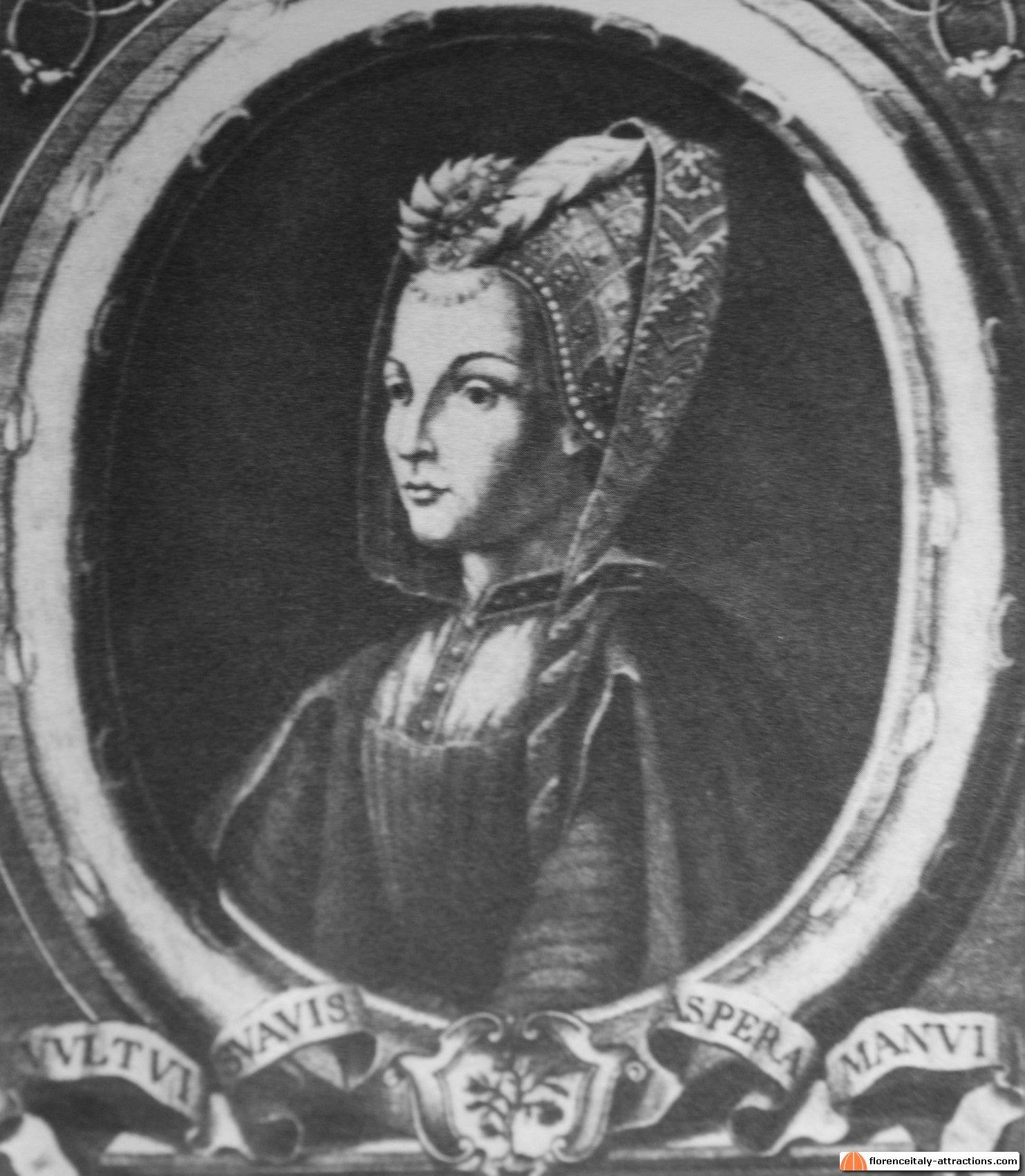 Clarice Orsini De Medici 1453 1488 Was The Wife Of