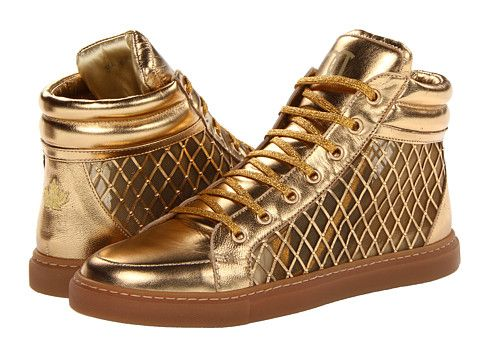 DSQUARED2   Sneakers, Gold shoes, Shoes