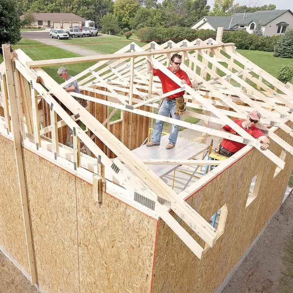 Storage Building Plans Garage: Building A Garage, Building A
