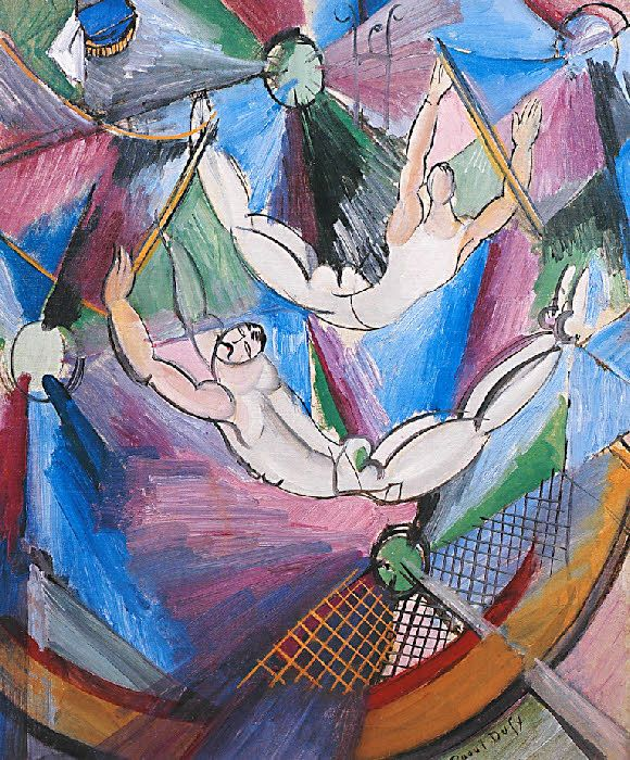 Raoul Dufy-拉烏爾.杜菲是法國野獸派(印象派)畫家,開發豐富多彩,裝飾風格,成為當時的時尚設計師和陶瓷藝術家.版畫家.插畫家[1877年1953年](第一輯)。。。 - ☆平平.淡淡.也是真☆  - ☆☆。 平平。淡淡。也是真。☆☆ 。